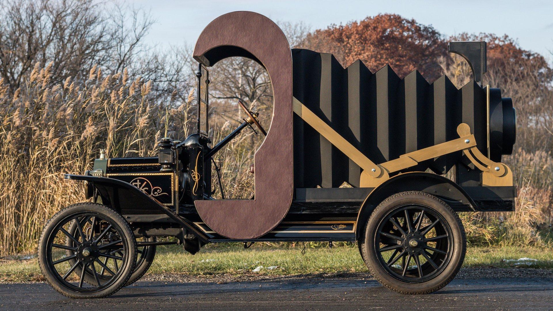 1914 ford model t kodal ii promo truck