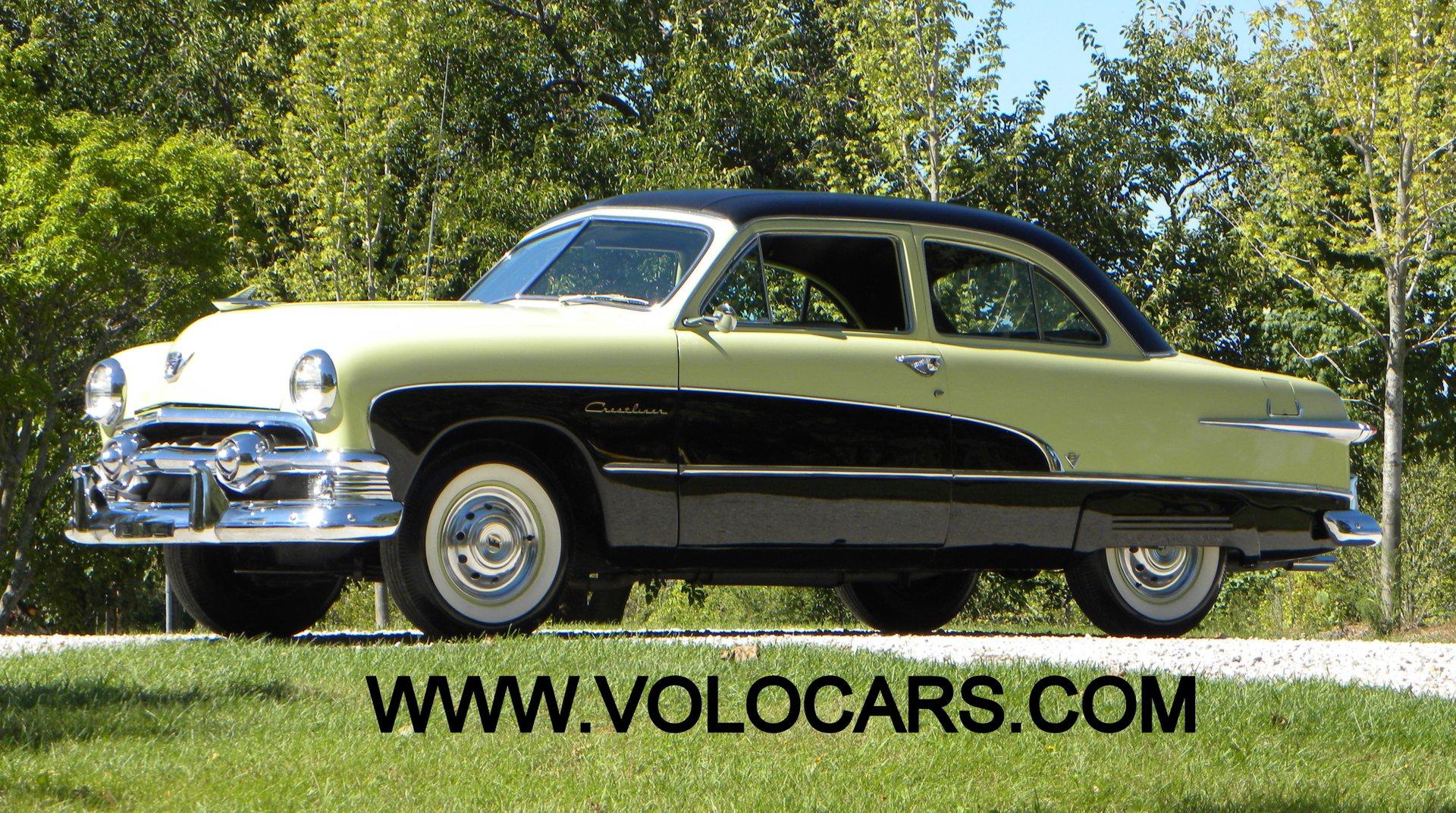 1951 ford crestline custom deluxe