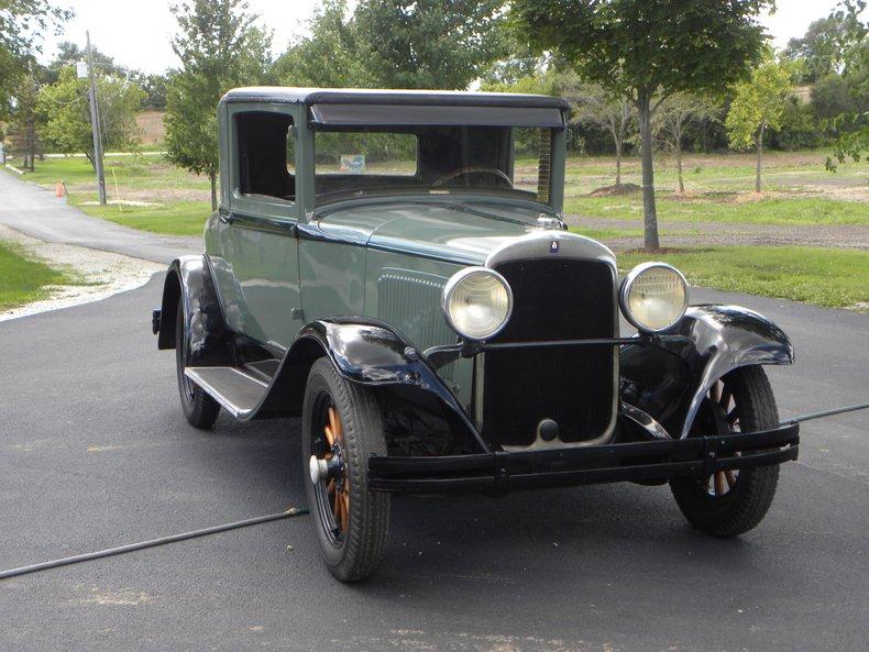 1929 Plymouth Model U