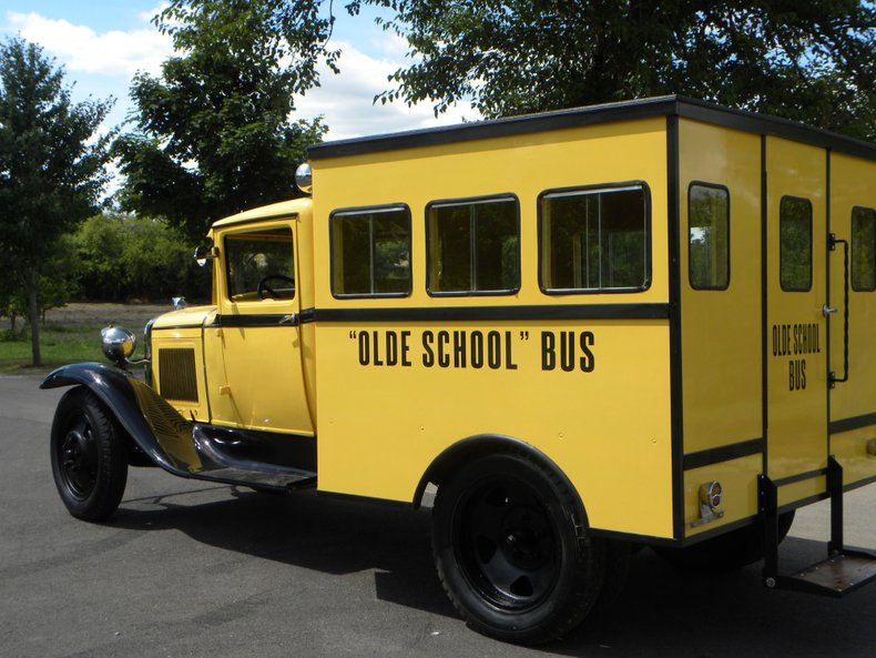 1929 Ford Model A Bus