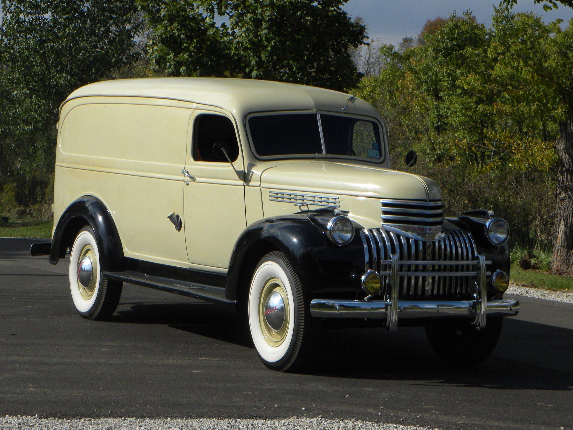 1941 chevrolet 1 ton panel truck