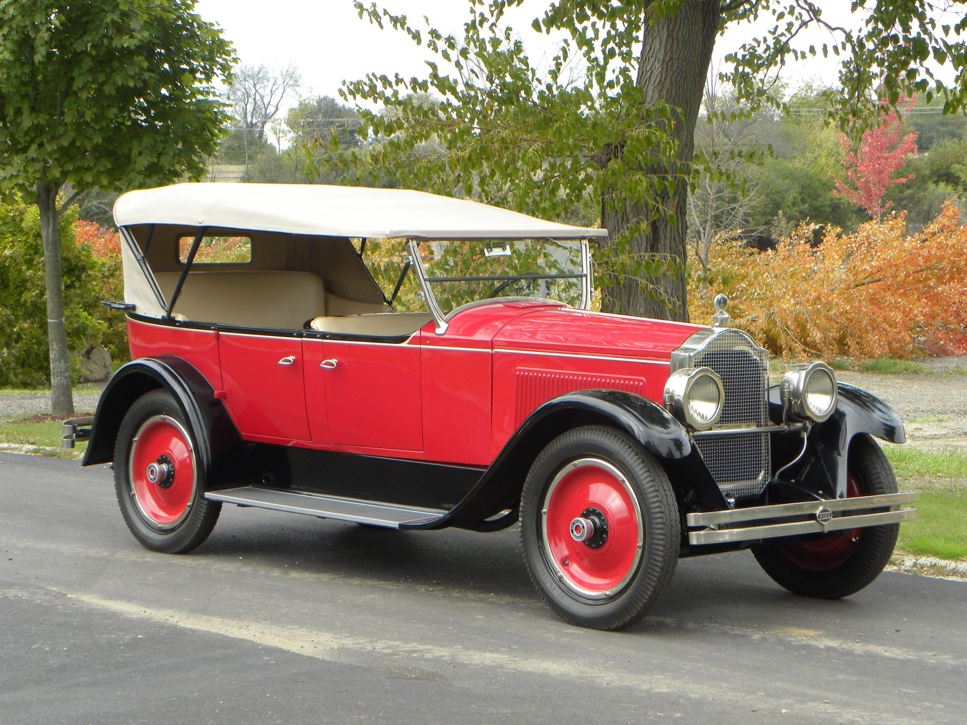 1923 packard single 6 sport touring
