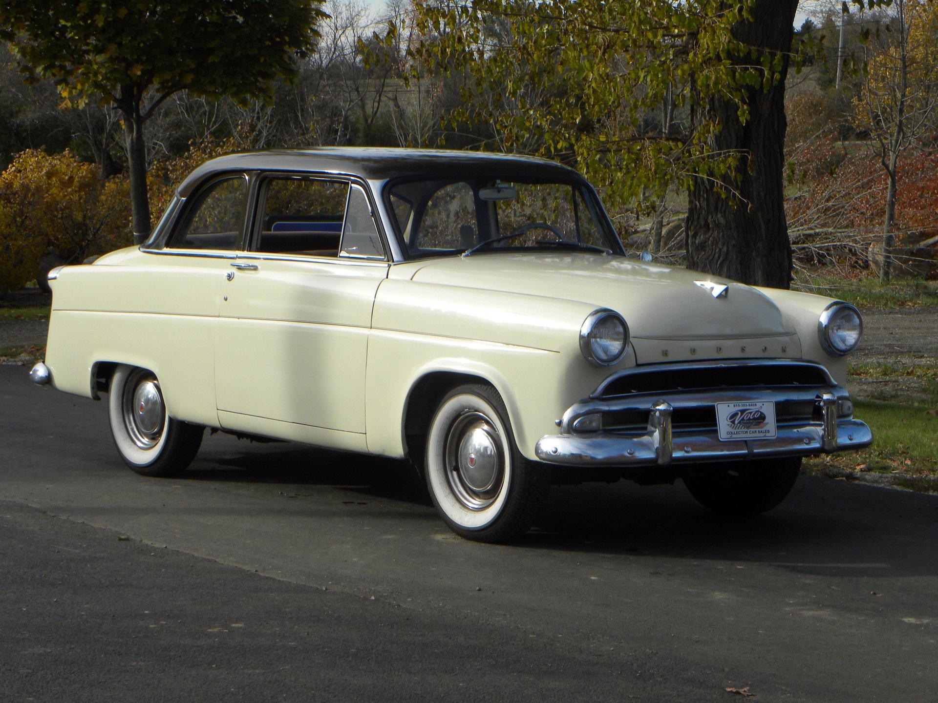1954 hudson jet 2 door family club sedan