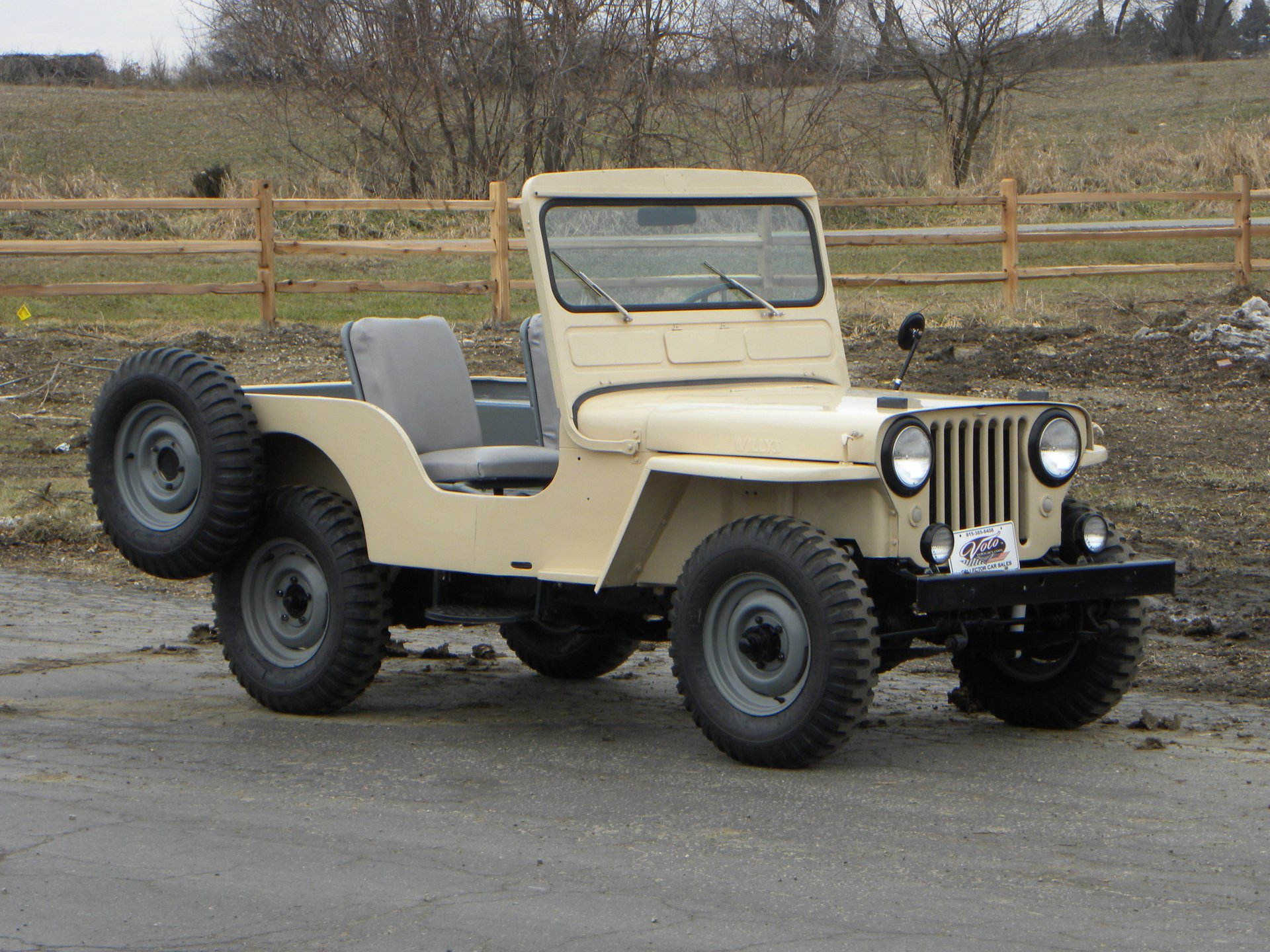 1951 willys cj3a jeep