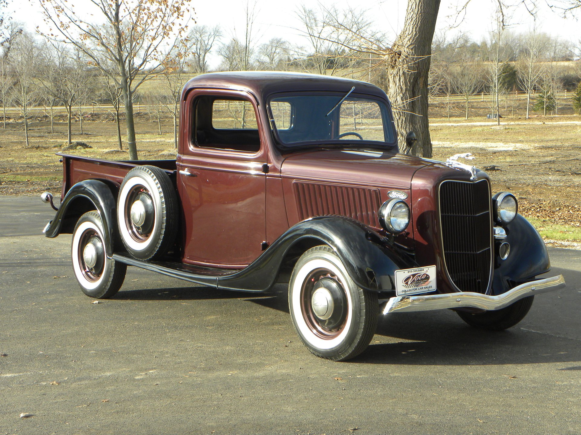 1936 ford model 68 1 2 ton pickup truck