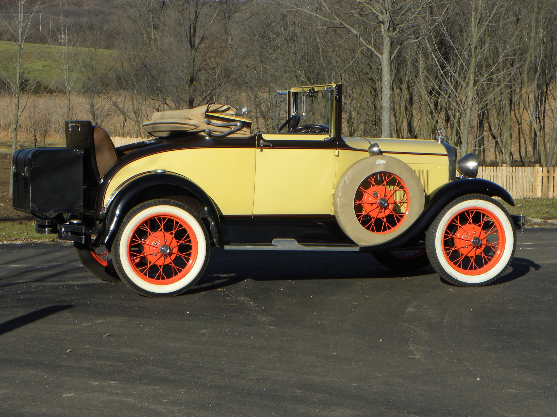 1929 ford 68 a cabriolet