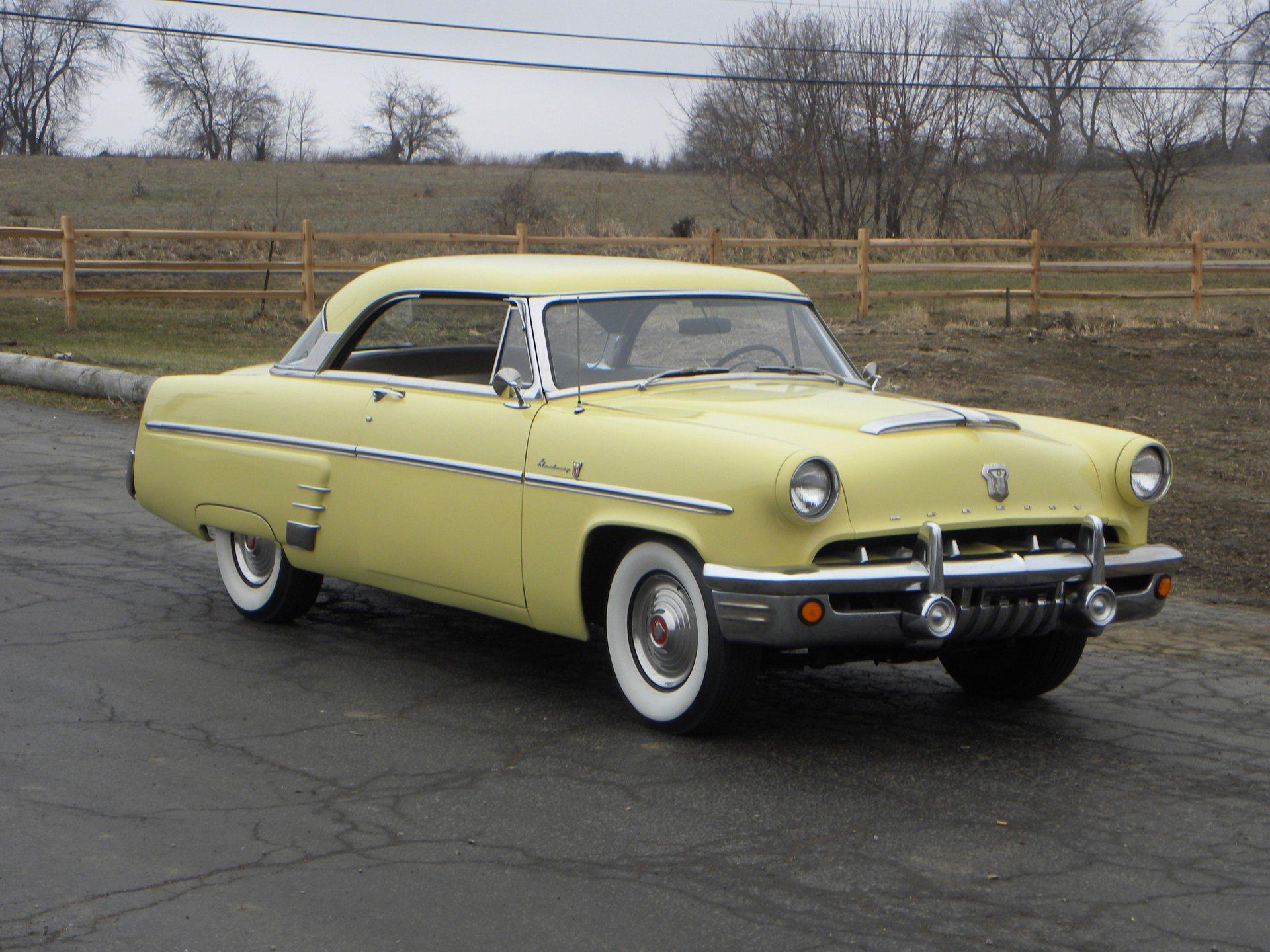 1953 mercury monterey 2 door hardtop