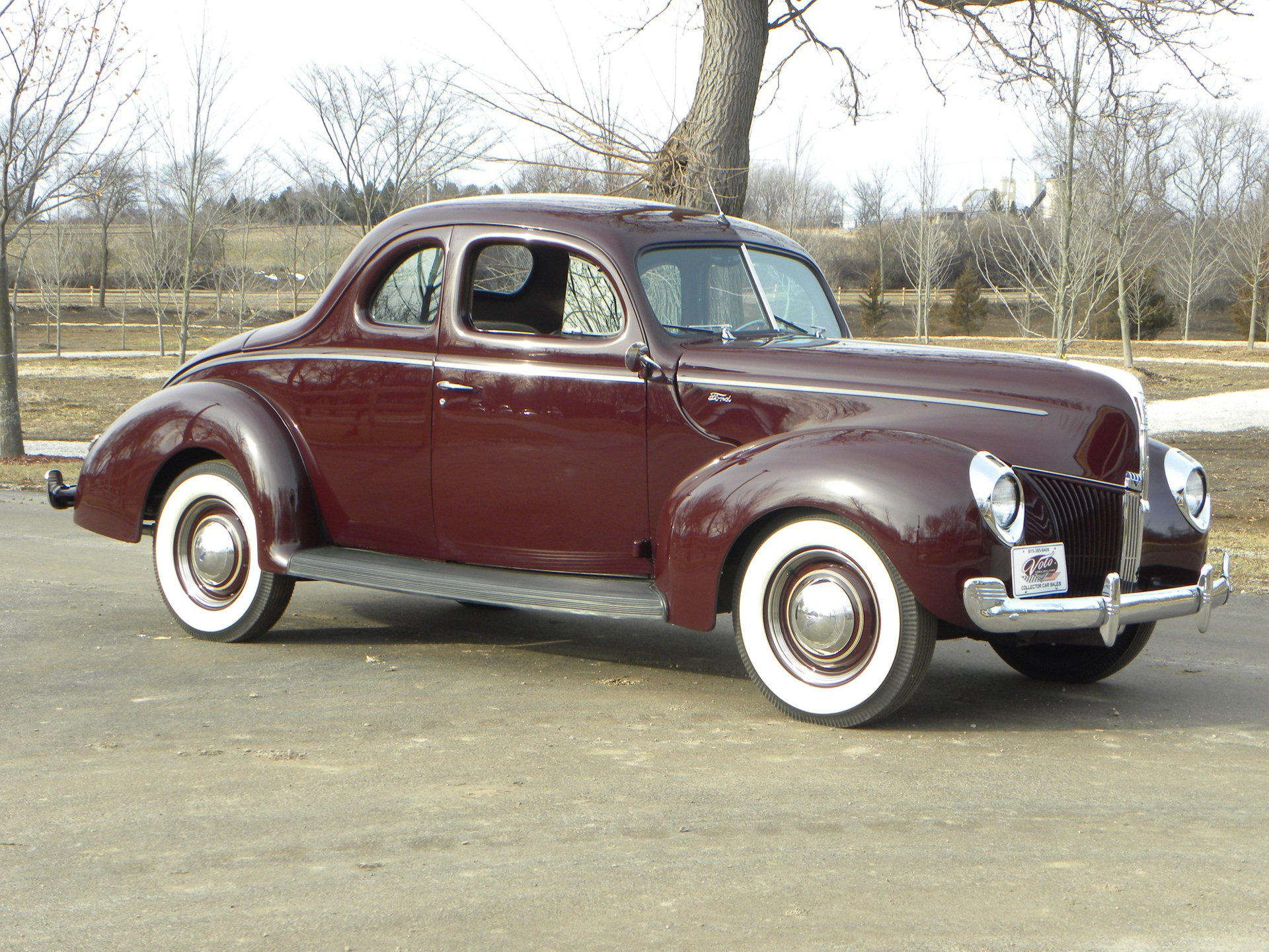 1940 ford 922 a standard coupe