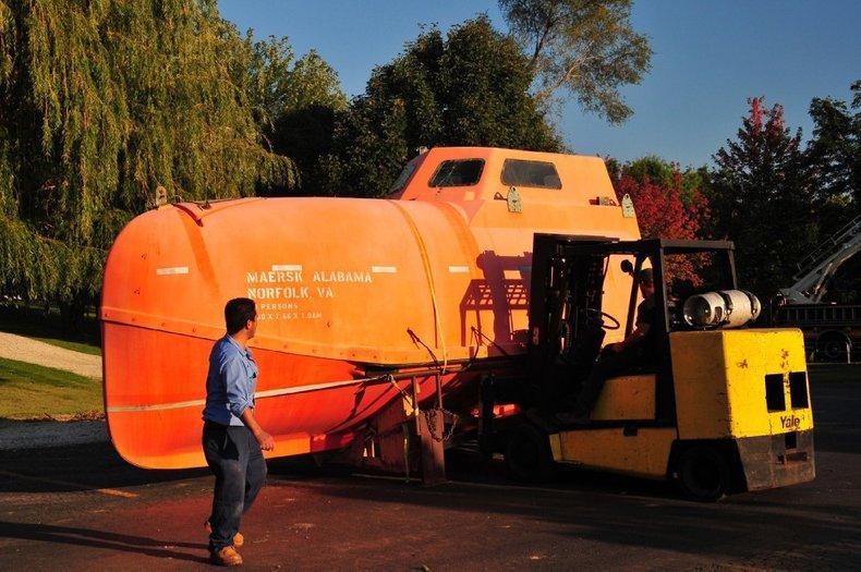 1998 Ernst Hatecke Freefall Lifeboat