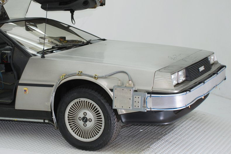 1981 DeLorean Time Machine