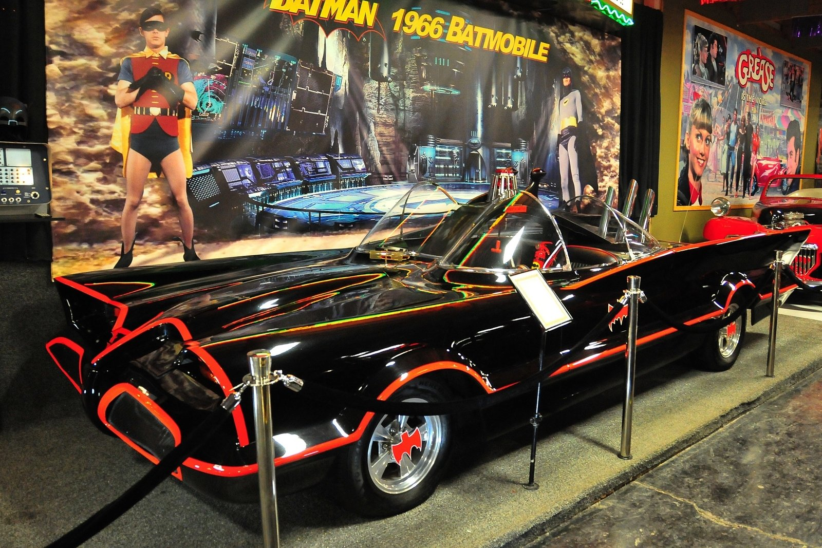 1966 Batmobile Adam West