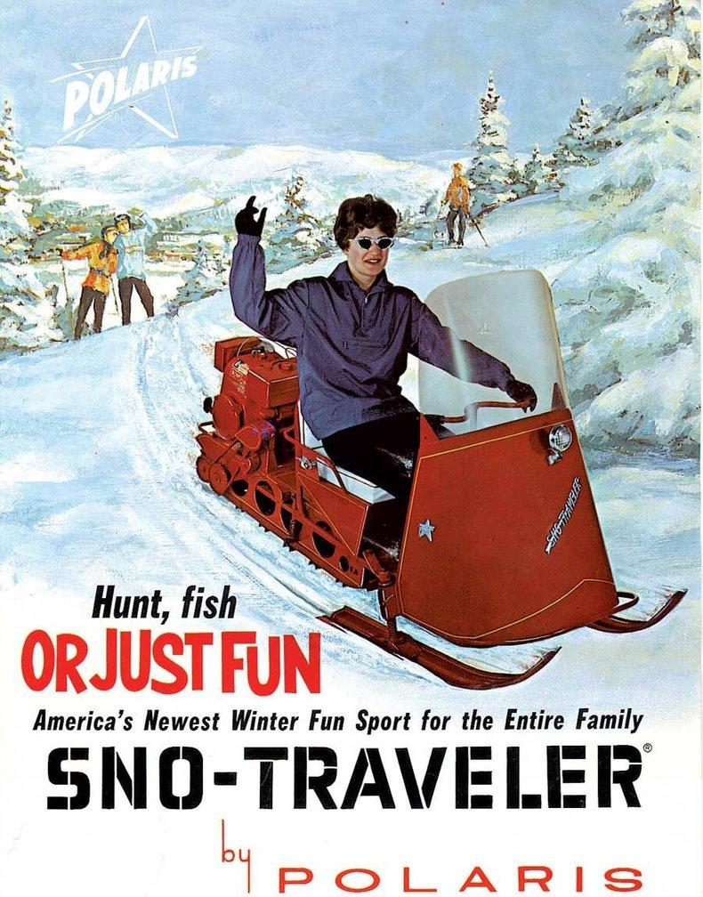 1962 Polaris Sno-Traveler