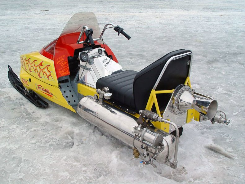 1979 Super Sonic Rocket Sled