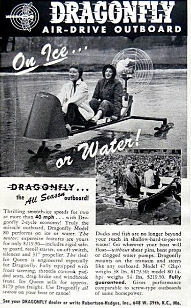 1957 Dragonfly Ice Sled