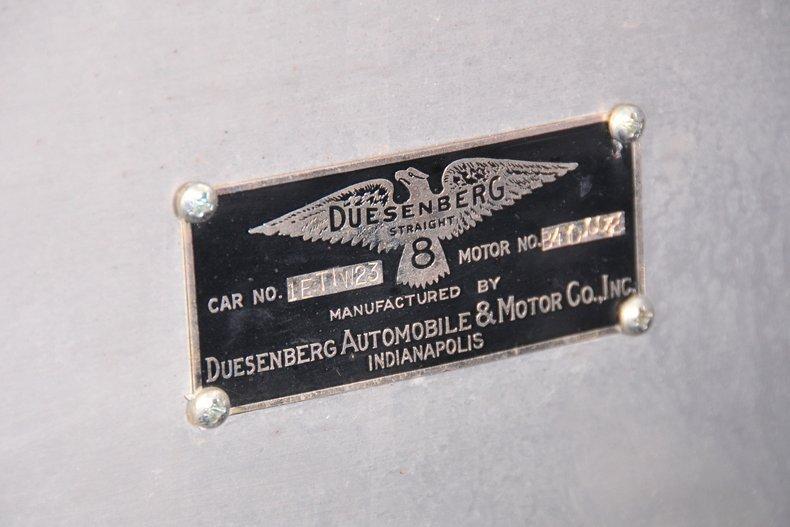 Duesenberg II Torpedo Phaeton