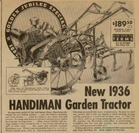1937 Sears Handiman