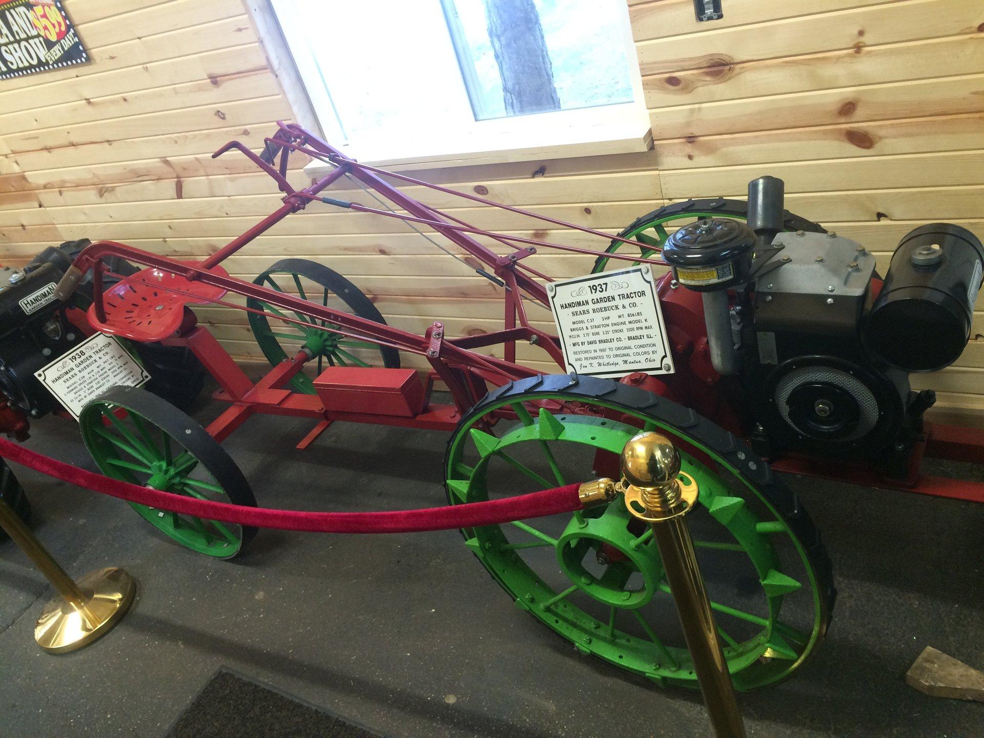 1937 sears handiman garden tractor