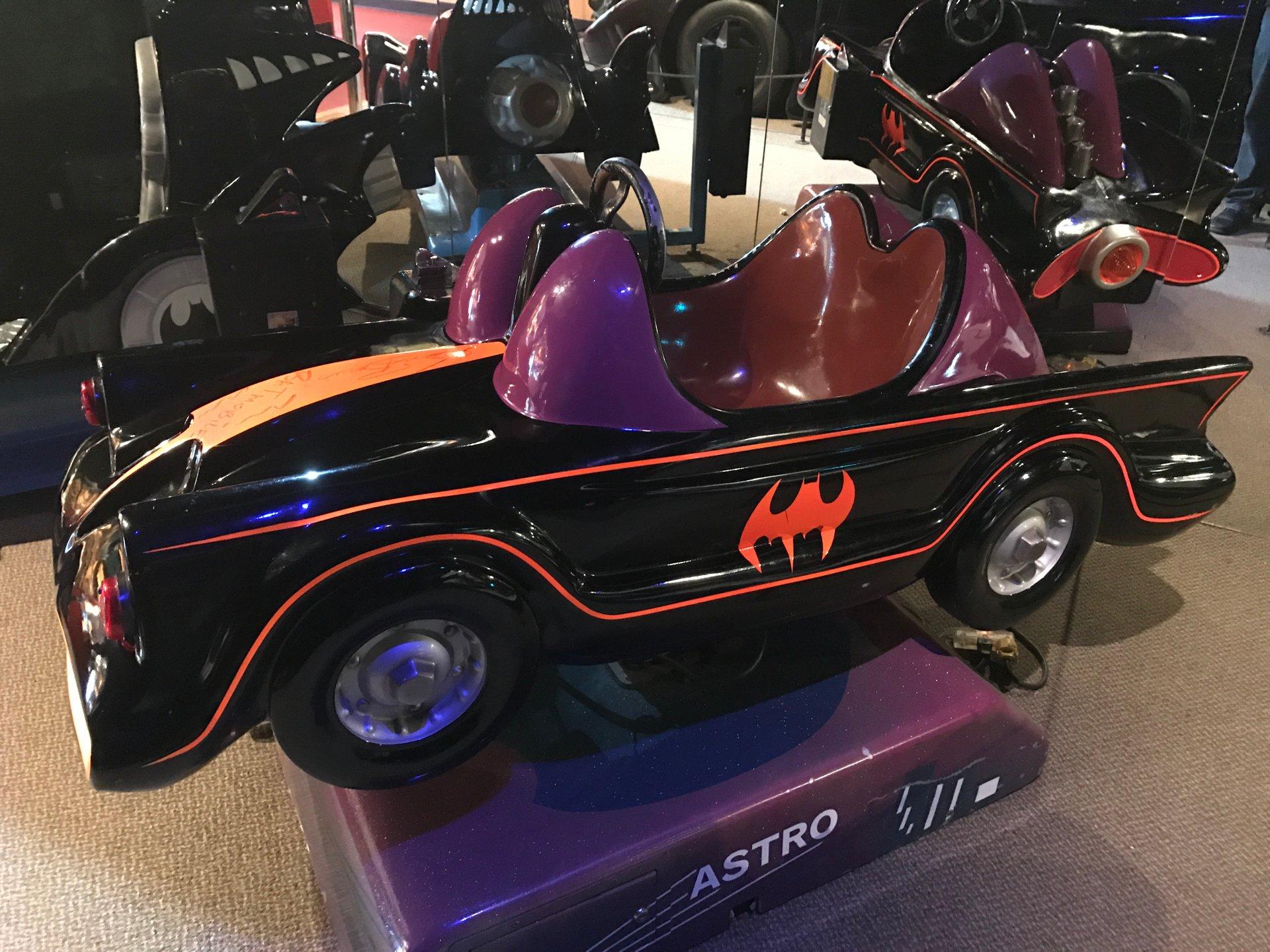 1966 batmobile kiddie ride