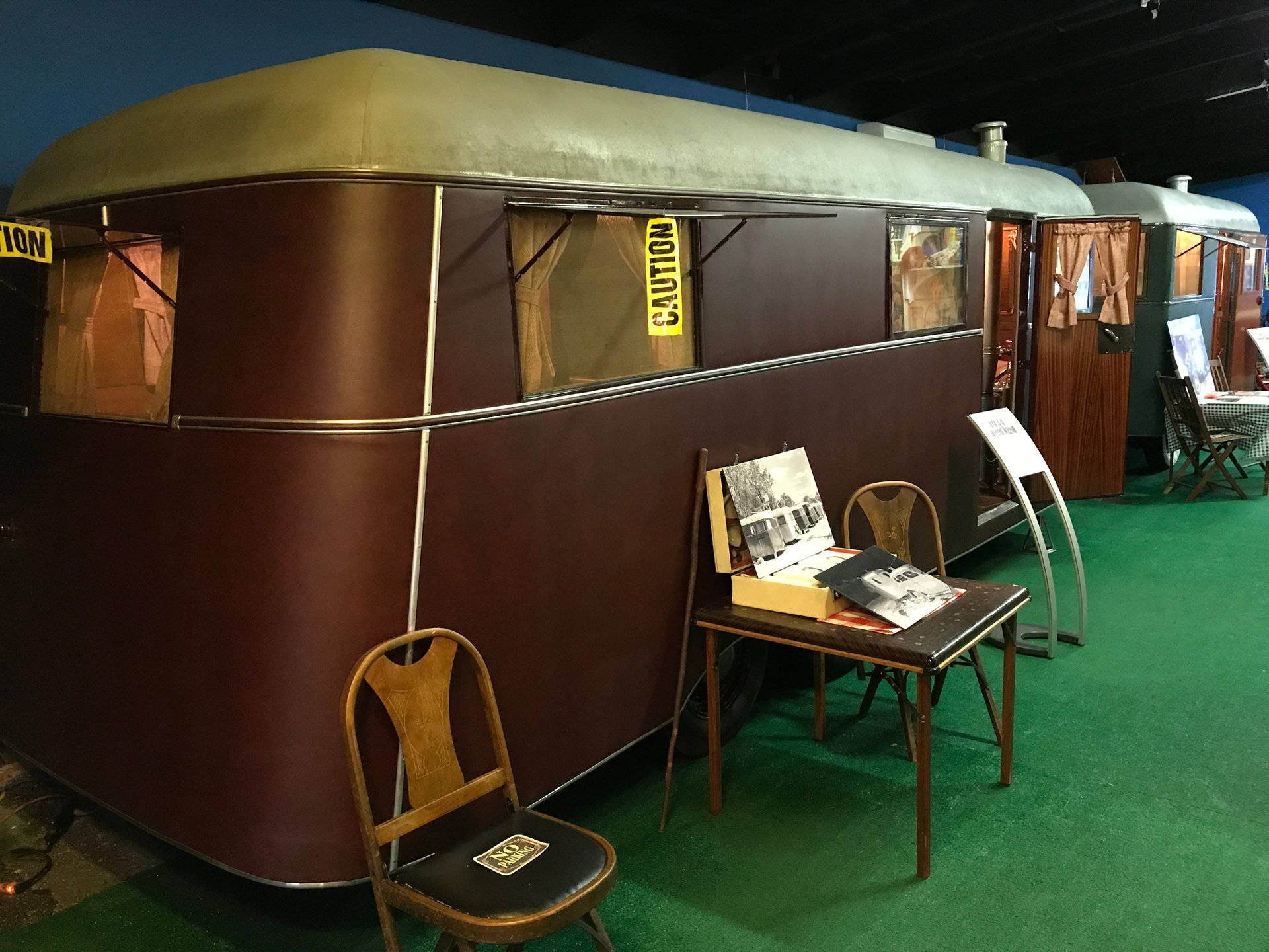 1934 covered wagon travel trailer