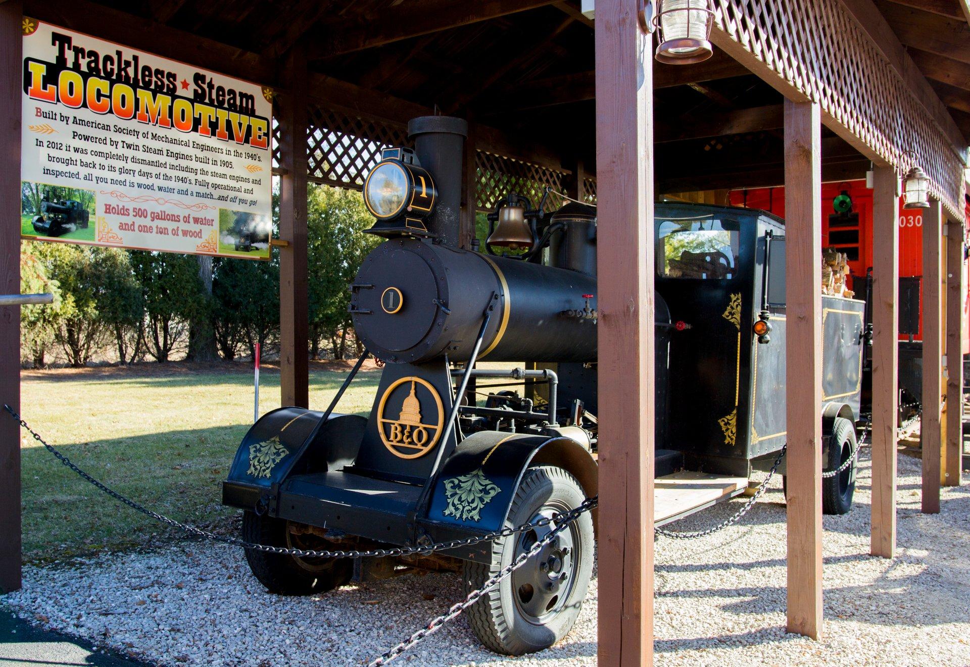 1948 b o steam road locomotive