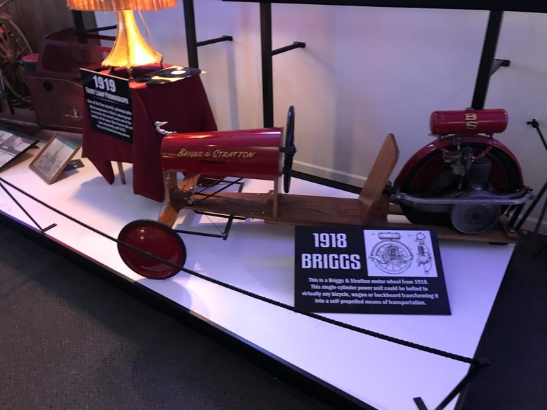 1918 Briggs & Stratton Motor Wheel