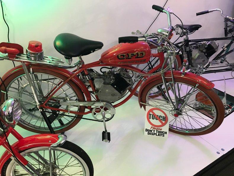 1947 Whizzer Fire Bike