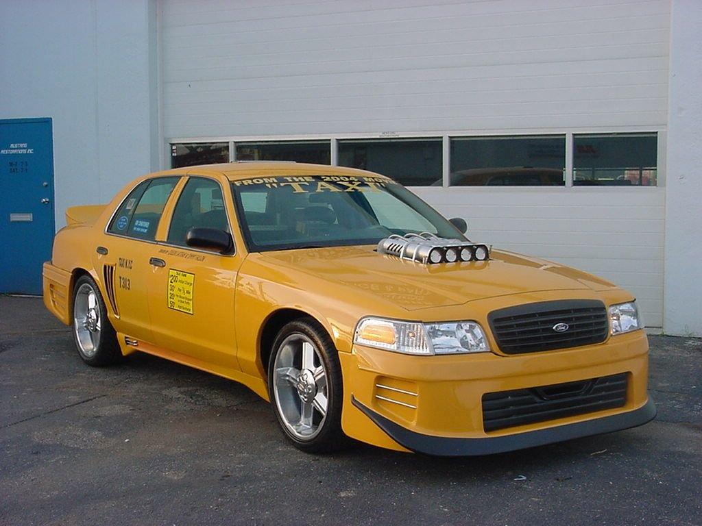 1999 ford crown victoria taxi movie car