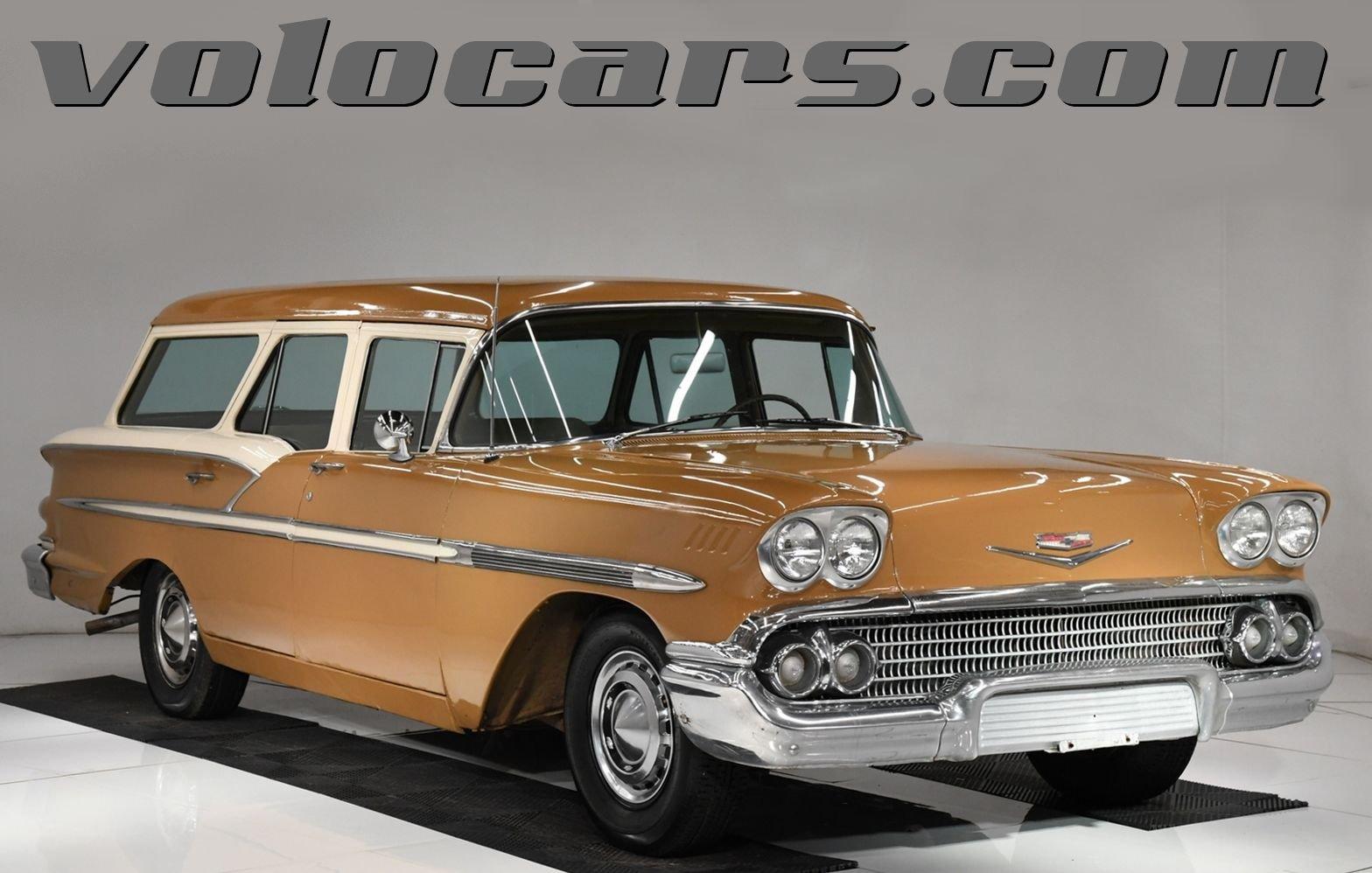 1958 chevrolet bel air nomad