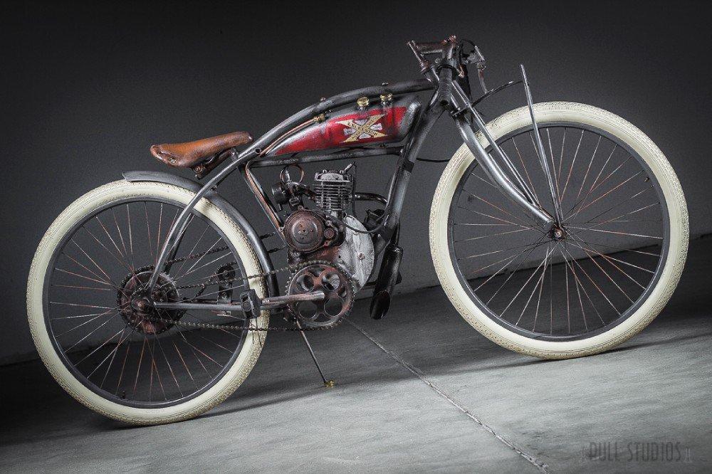 1912 excelsior board track racer