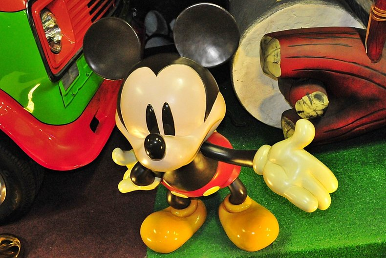Mickey Mouse Statue