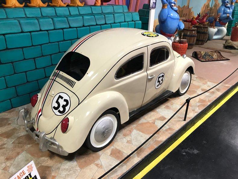 1970's Disney on Ice Herbie Pedal Car