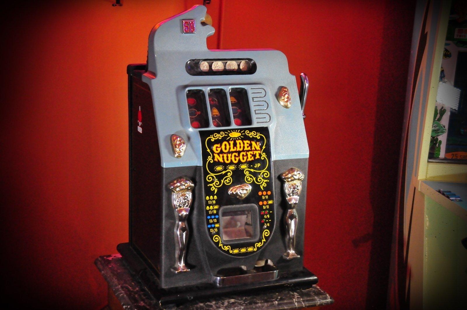 7 50 Cent Mills Slot Machine Auction Sept 17th No Reserve On