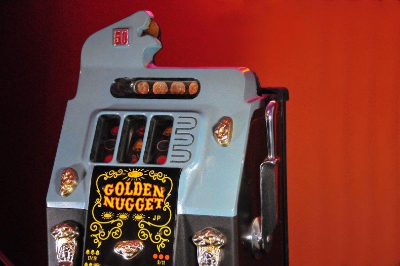 50 Cent Mills Slot Machine, auction Sept. 17th, no-reserve, on-line
