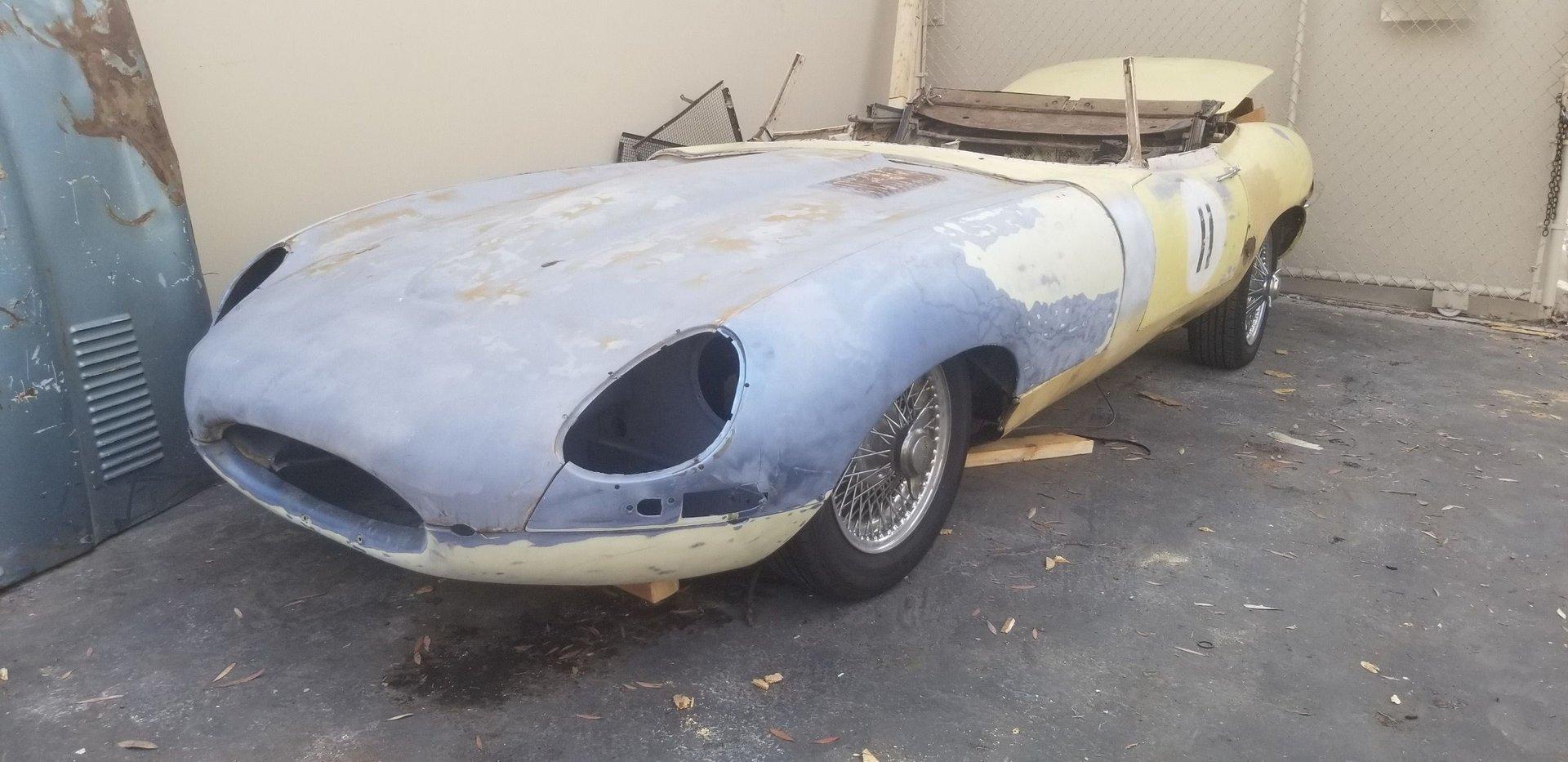 1962 jaguar e type s1 3 8 roadster