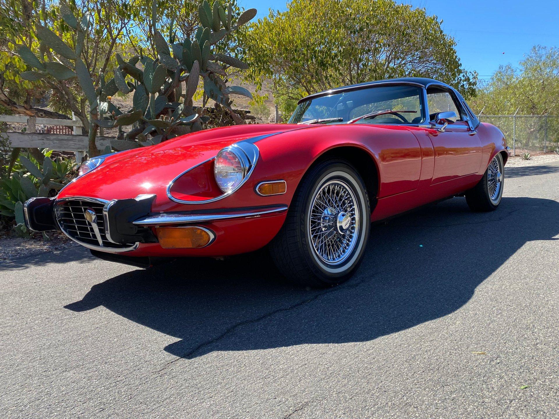 1972 jaguar e type s3 v 12