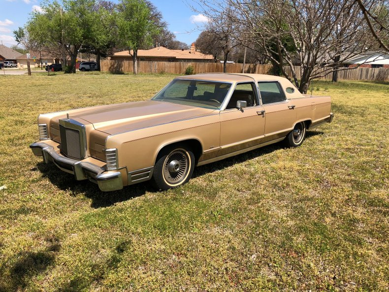 1978 Lincoln Town Car Wheeler Auctions