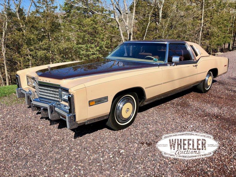 1978 Cadillac Eldorado For Sale