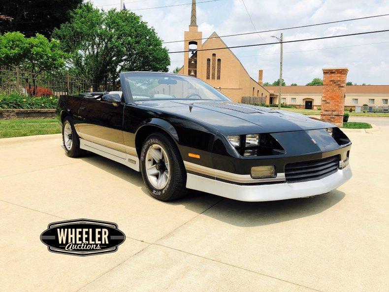 1987 Chevrolet Camaro Z/28