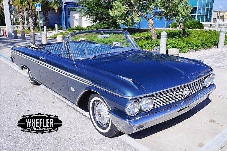 1962 Ford Sunliner For Sale