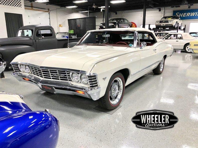 1967 Chevrolet Impala For Sale