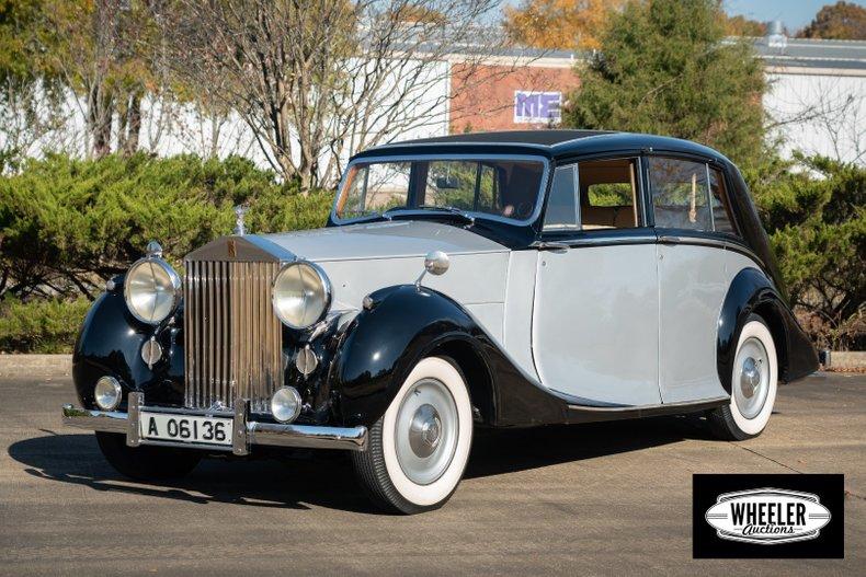 1947 Rolls-Royce Silver Wraith For Sale