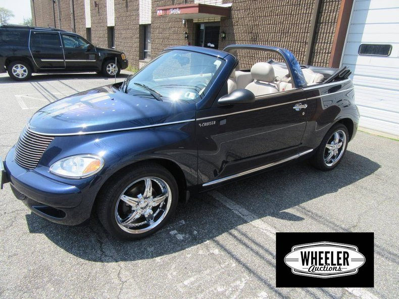 2005 chrysler pt cruiser gt conv turbo