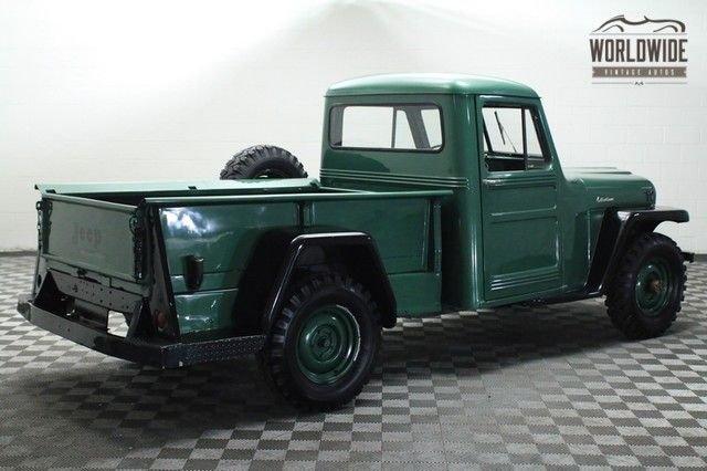 1955 Willys 4X4 Pickup Truck