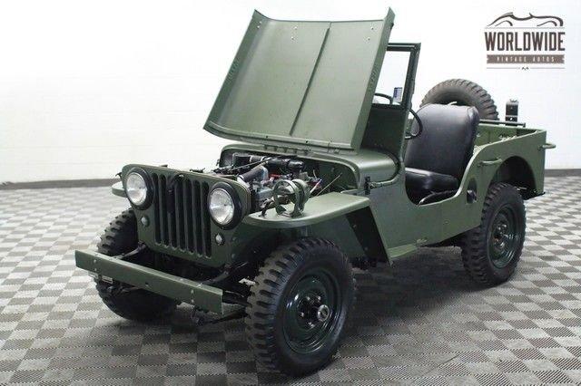 1948 willys jeep cj 2a