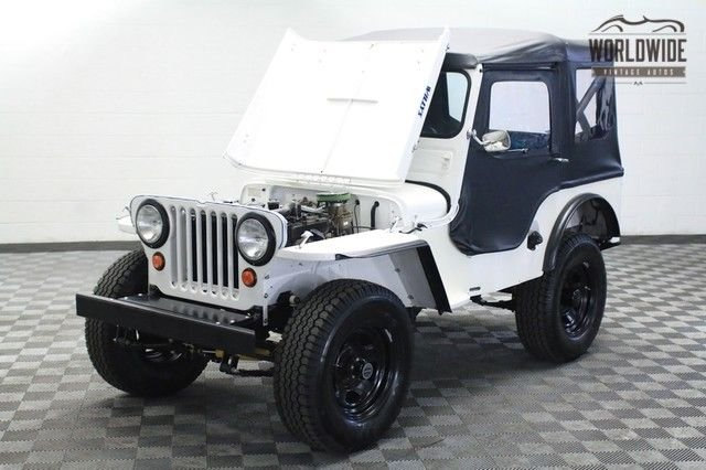 1952 willys cj 2a