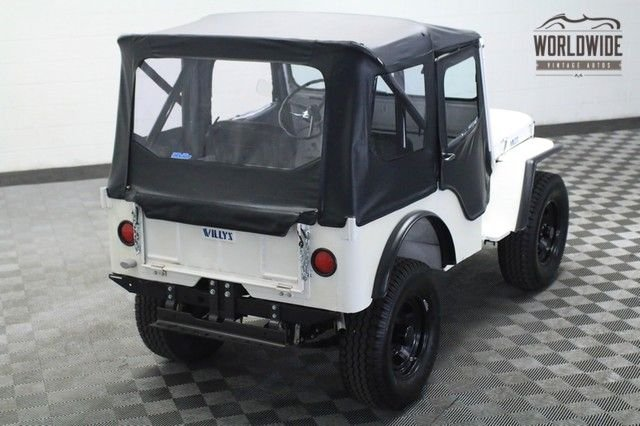 1952 Willys Cj-2A