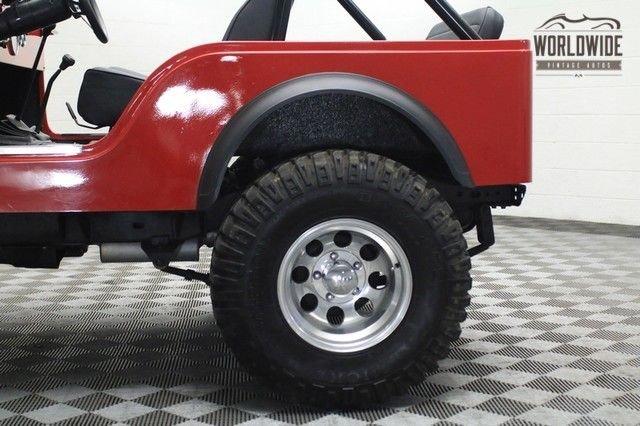 1981 Jeep Cj 4Wd