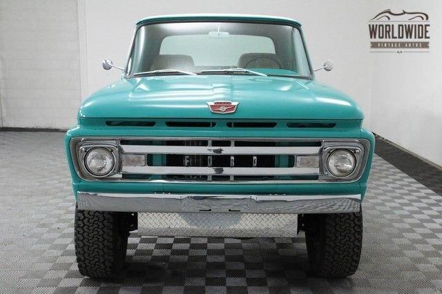 1961 Ford F100 Stepside Truck