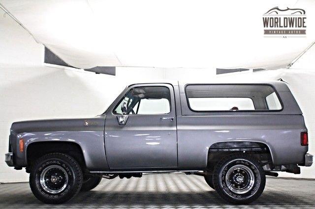 1976 chevrolet k10 blazer 4x4