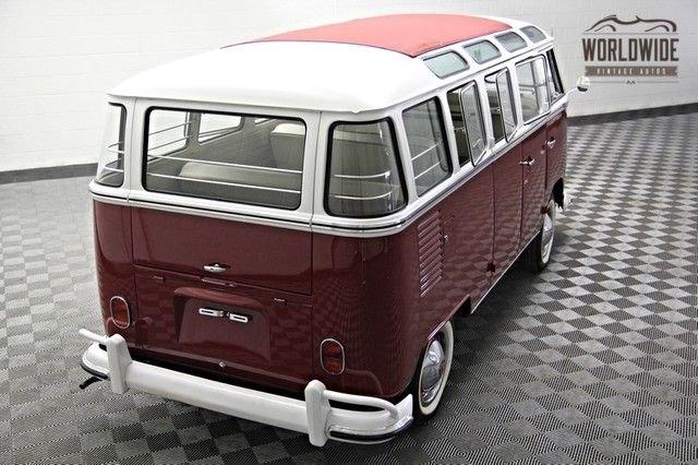 1962 volkswagon 23 window microbus